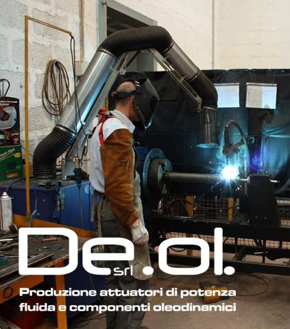 De.Ol. certifies its welding processes according to the new UNI EN ISO 9606-1