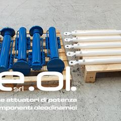 Cylinders for drilling machines