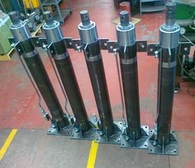 Click to view album: Two Stages Double-Acting Telescopic Hydraulic Cylinders
